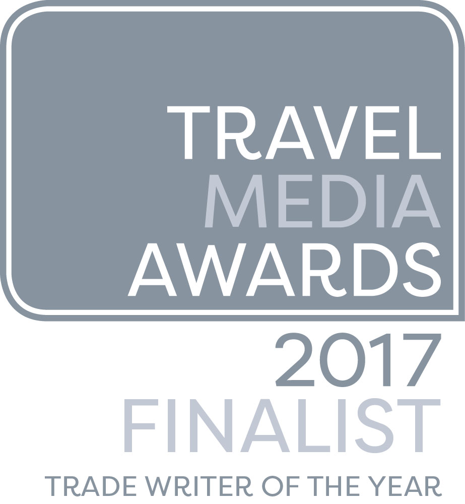 Travel Trade Writer of the Year finalist 2017